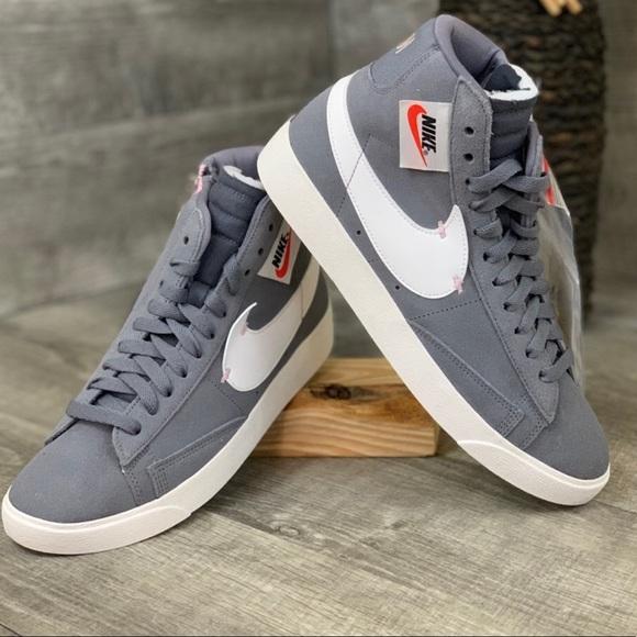 Nike Shoes | Nike Blazer Mid Rebel Grey